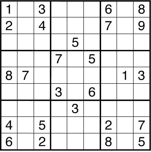 Friday Puzzle #156 - Sudoku and Surplus Sudoku: motris