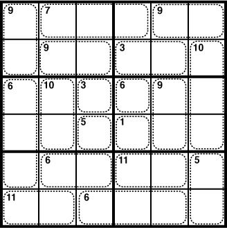 Friday Puzzle #137 - SVPF Killer Sudoku: motris — LiveJournal
